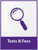 tests and fees
